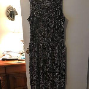 Dresses & Skirts - Women's Faded Glory Maxi dress sz 1X black/Grey